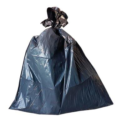 Sacchi spazzatura 100 L nero 5 pezzi