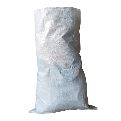 Sacchi spazzatura 100 L bianco 5 pezzi