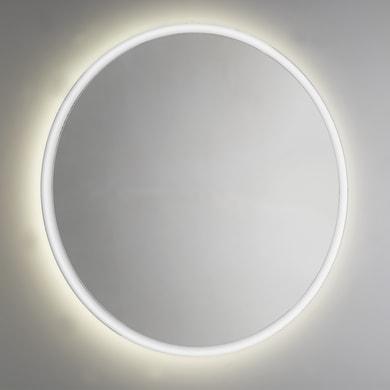 Specchio con illuminazione integrata bagno rotondo L 85 x H 85 cm