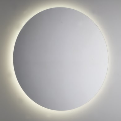 Specchio con illuminazione integrata bagno rotondo L 100 x H 100 cm