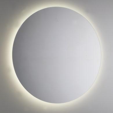 Specchio con illuminazione integrata bagno rotondo L 105 x H 105 cm