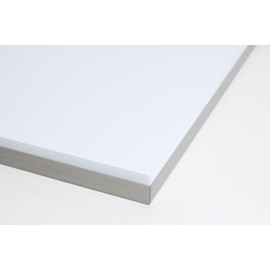 Piano cucina su misura in truciolare bianco , spessore 4 cm