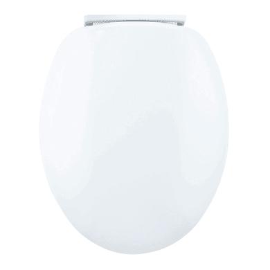 Copriwater ovale Universale Chut Soft Close WIRQUIN termoindurente bianco