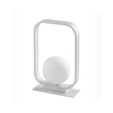 Lampada da comodino Design I-roxy-l1 bianco, in metallo