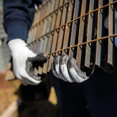 Guanto da giardinaggio in poliuretano S