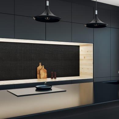 Mosaico Black10 H 31.8 x L 31.8 cm nero