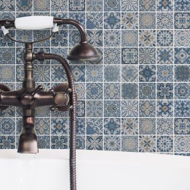 Mosaico Capri H 30 x L 30 cm blu