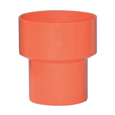 Aumento arancione in PVC Ø40/Ø63 mm