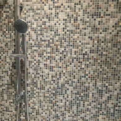 Mosaico Mix Ardesia15 H 30 x L 30 cm multicolor
