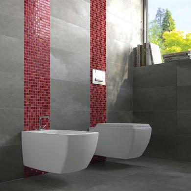 Mosaico Lacca Rossa H 30 x L 30 cm rosso