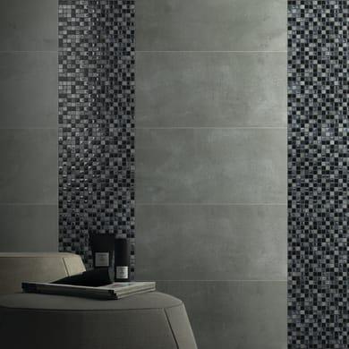 Mosaico Ardesia15 H 30 x L 30 cm nero