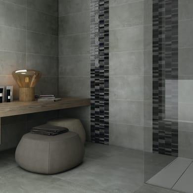 Mosaico Summer Black H 30 x L 30 cm nero/antracite