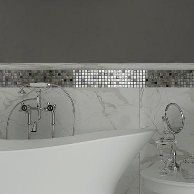 Mosaico Grey tex H 30 x L 30 cm grigio