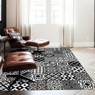 Tappeto Hollis Siena , bianco e nero, 155x210 cm