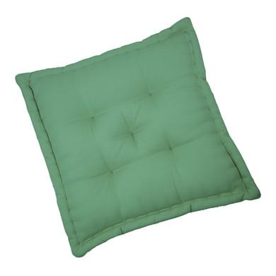 Cuscino da pavimento INSPIRE Elema verde 60x60 cm Ø 0 cm