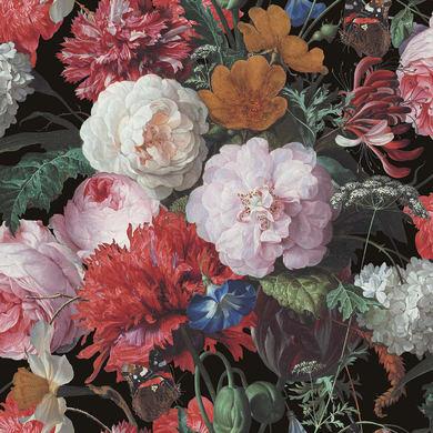 Carta da parati Bouquet rose multicolor