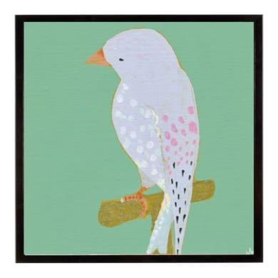 Stampa incorniciata Birds - Playful 20.7x25.7 cm
