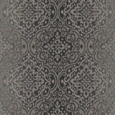 Carta da parati Damasco grigio