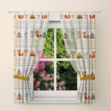 Tendina vetro Indiani multicolor tunnel 60 x 240 cm