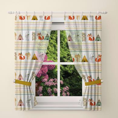 Tendina vetro Indiani multicolor tunnel 60 x 150 cm