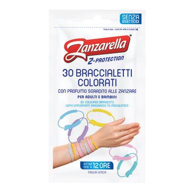 Repellente ZANZARELLA Zanzarella Braccialetti Adulti 30 pz 30 pz