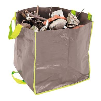 Sacchi spazzatura H 30 cm 100 L beige - verde