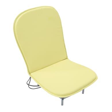 Cuscino per sedia Bigrey giallo 85x3 cm