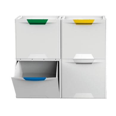 Armadio Raccolta Differenziata Ikea.Pattumiere Raccolta Differenziata Per Cucina E Sacchetti Leroy Merlin