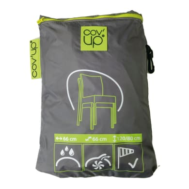 Copertura protettiva per sedia in poliestere CVD 07 L 66 x P 66 x H 120 cm
