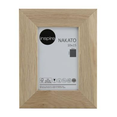 Cornice INSPIRE Nakato rovere per foto da 10x15 cm