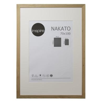 Cornice con passe-partout Inspire nakato rovere 70x100 cm