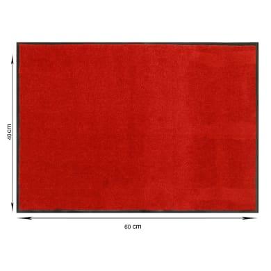 Zerbino Constant in poliammide rosso 40x60 cm