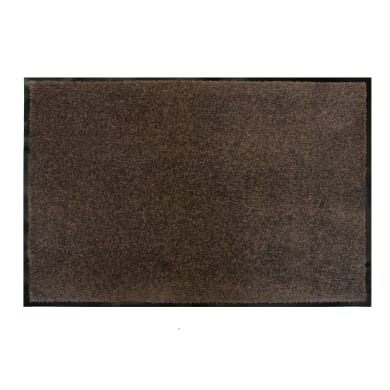 Tappeto spazzola Constant in poliammide marrone 90x120 cm