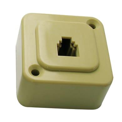 Spina / presa RJ11 US Plug  beige