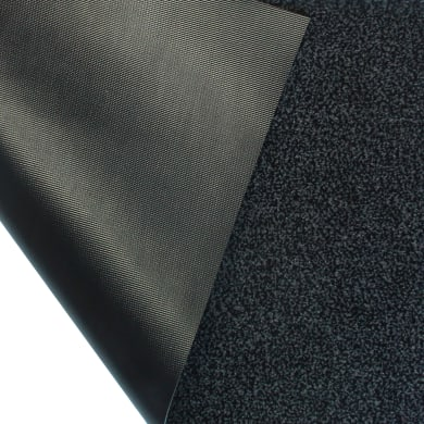Tappeto spazzola Gabriel in polipropilene grigio 60x90 cm