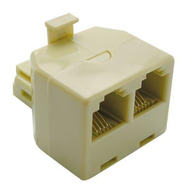 Adattatore RJ11 Usp plug  beige