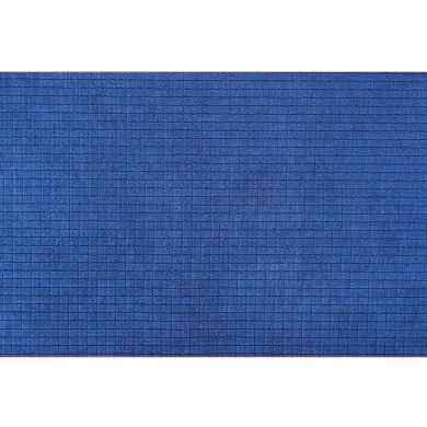 Tappeto Ali baba , blu, 50x75 cm
