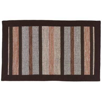 Tappeto Border , marrone, 57x180 cm