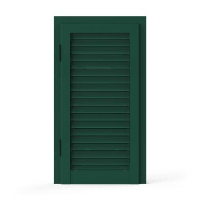 Persiana blindata  anta ARTENS   in alluminio L 70 x H 125 cm verde