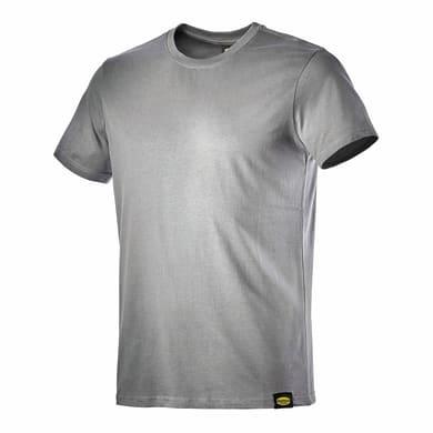 T-shirt da lavoro DIADORA MC Atony tg l grigio