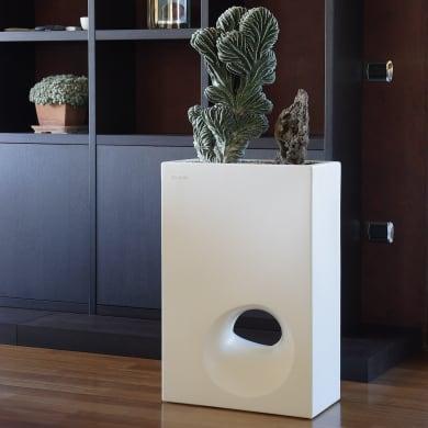 Vaso Mod'o in plastica colore bianco H 75 cm, L 50 x P 26 cm