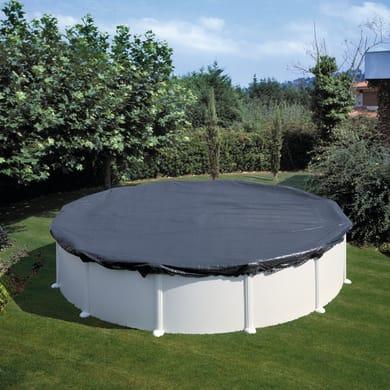 Copertura per piscina invernale NATERIAL CI461NAT in polietilene 460 x 460 cmØ 540 cm