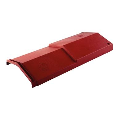 Colmo in polipropilene 63 x 25 cm rosso siena