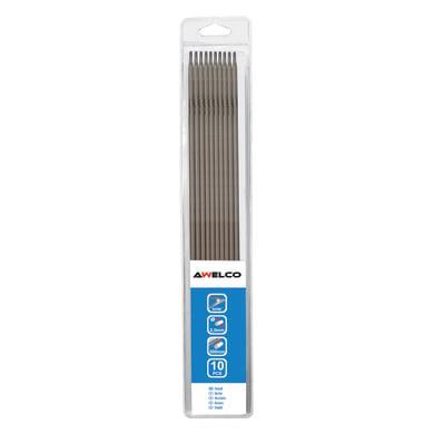 10 elettrodo per saldatura E7018 acciaio Ø 2.5 mm