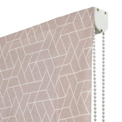 Tenda a pacchetto Geometric rosa 105x250 cm