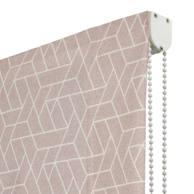 Tenda a pacchetto Geometric rosa 120x175 cm