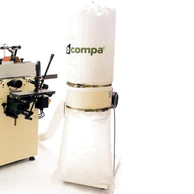 Aspiratore per macchine lavorazione legno COMPA HP1 0.75 W 600 m³/h