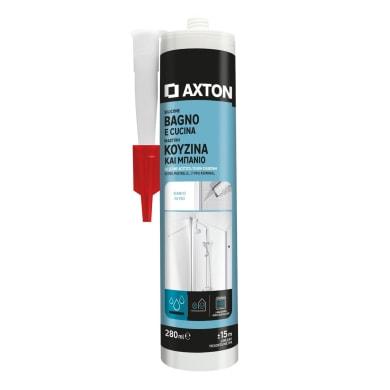 Silicone sigillante AXTON Bagni e Cucine bianco 280 ml