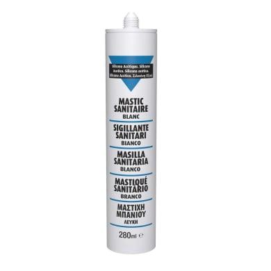 Silicone sigillante bianco 280 ml