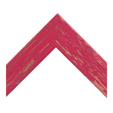 Cornice Amalfi rosso per foto da 60x90 cm